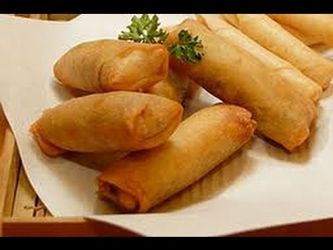 PINOY RECIPE - MOST DELICIOUS SPRING ROLL RECIPE EVER - YouTube