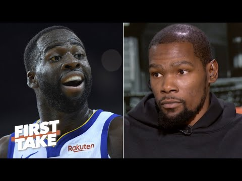 Kevin Durant says Draymond's on-court explosion impacted his free agency decision | First Take