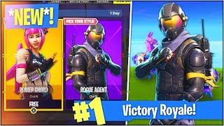 "*NEW* ""ROGUE AGENT"" SKIN in Fortnite Battle Royale! (Fortnite Starter Pack)"
