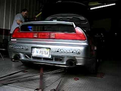 LoveFab NSX Turbo on Dyno