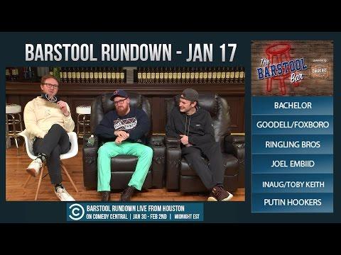 Barstool Rundown - January 17, 2017