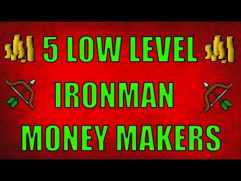 5 Low Level Ironman Money Making Guides Part 1 Oldschool runescape 2007 (  OSRS )