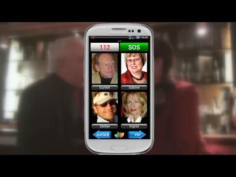 Seniorenhandy von seniorenTEL.de - Das Senioren-Handy / Die Senioren-Smartphone App