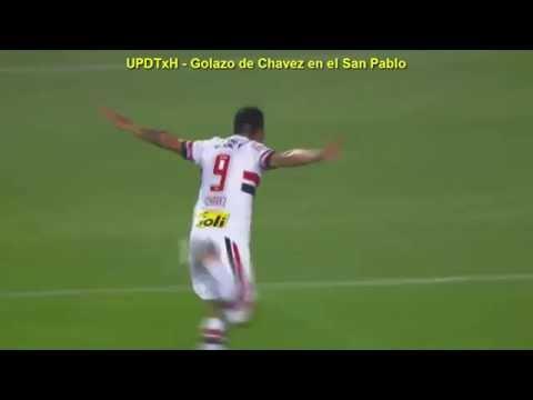 Golazo de Chavez en el San Pablo - ExBoca - Jueves 04-08-2016