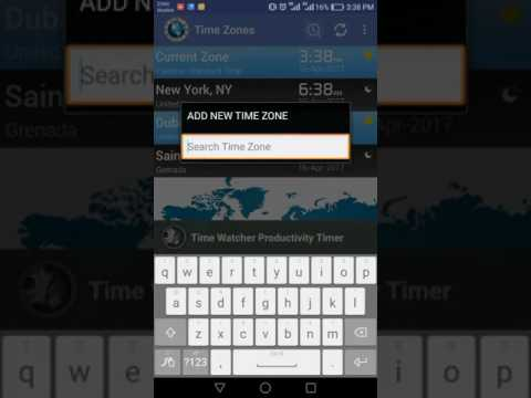 Time Zone Converter - World Time Zones Clock – Apps on