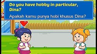 Game Edukasi Percakapan Bahasa Inggris Untuk Anak Hobi Dalam Bahasa Inggris Hobby