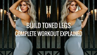 BUILD LEAN LEGS | Hamstring and Booty Focused