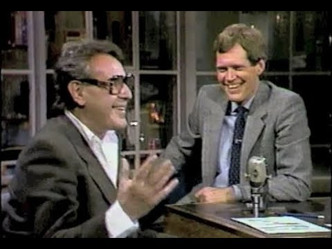 Milos Forman on Late Night, 1985, 1986