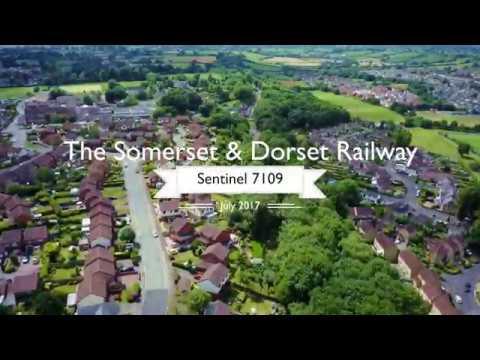 Somerset & Dorset Railway at Midsomer Norton