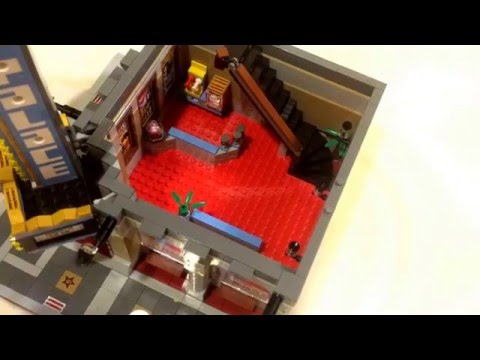 Review:Lego set number 10232: The palace Cinema