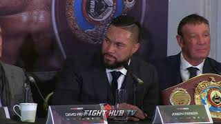 """JOSEPH PARKER LISTS ADVANTAGES OVER JOSHUA """"SPEED, MOVEMENT, ITS TIME FOR ME TO SHOW WHAT I CAN DO"""""""