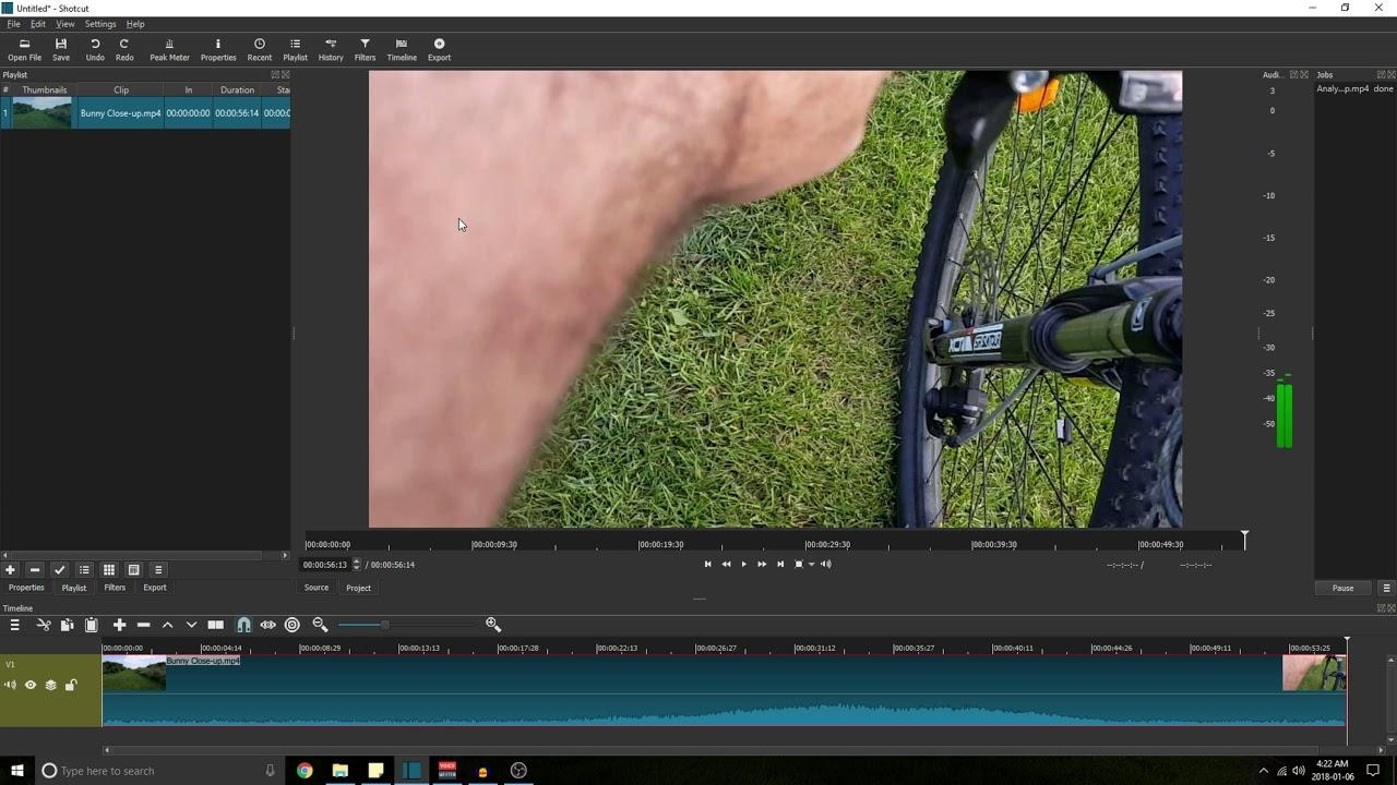 Stabilize Video Using Shotcut [Tutorial, Explanation & Comparison]