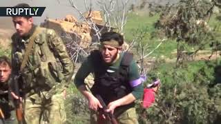 Afrin clashes RAW: FSA allied with Turkish troops engage in combat on city outskirts