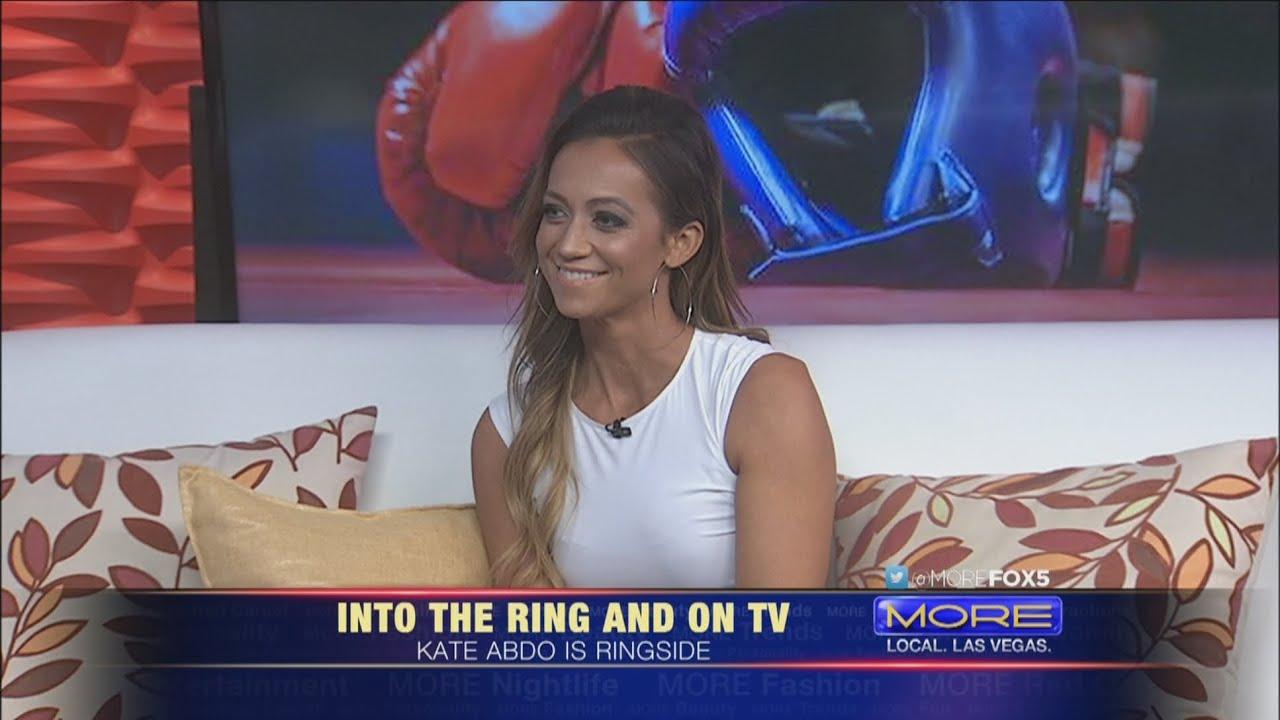 Fox Sports Host Kate Abdo Talks Boxing Youtube