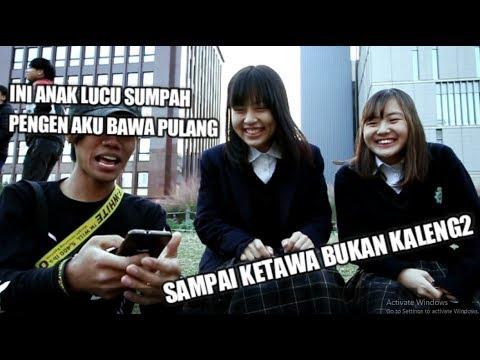 NGAJARIN CEWEK SMA JEPANG NGOMONG BAHASA INDONESIA #hohoardiyanvlog