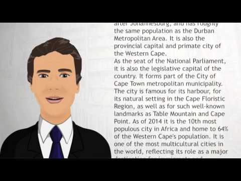 Cape Townlegislative - Wiki Videos