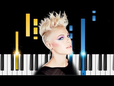 Pink - What About Us - Piano Tutorial