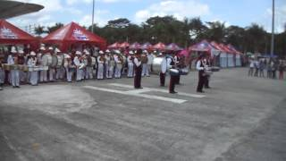 DMMA DRUMLINE AT  MUSIKAHAN SA TAGUM FIRST DRUM-LINE BATTLE CHAMPION first video