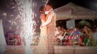 Punta Cana Destination Wedding. Majestic Resorts Wedding Video.