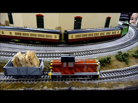 THOMAS THE TANK ENGINE & FRIENDS HO SCALE Bachmann Train Layout at NMRA show