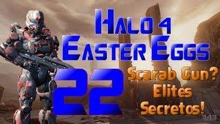 Halo 4 Easter Eggs (y Glitches) 22 - Posible Scarab Gun? Escuadron Secreto de Elites!