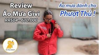 Review Áo Mưa bộ Givi 610.000 - Áo mưa dành cho dân Phượt - Xe Ôm Shop