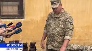 В Одесі презентували нову зимову військову форму