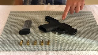 How to LOAD & UNĻOAD a handgun - for beginners!