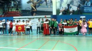 видео Межнациональный турнир по волейболу
