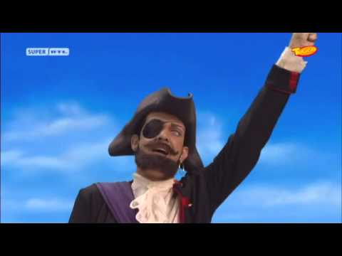 Lazytown pirate song in german
