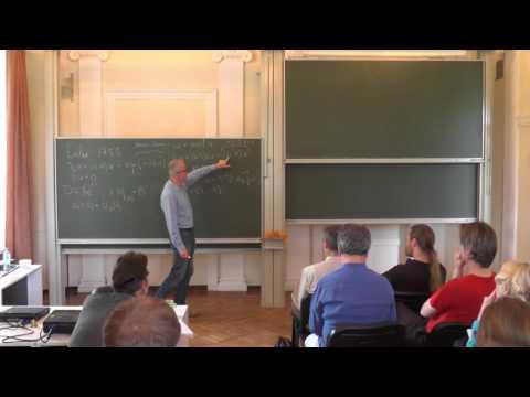 Alexander Kiselev. Singularity formation in models of fluid mechanics