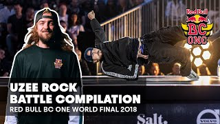 Uzee Rock Battle Compilation | Red Bull BC One World Final 2018