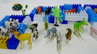 Animals Zoo For Kids Learn Wild Zoo Animals Name For Kids |Learn Animal Names Video