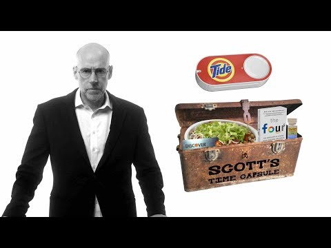 Amazon Dash Goes Into Scott's Time Capsule