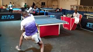 Ghana Table Tennis - 2020 GTTA Chairmans Cup Daniel Ampofo vs Fredric Twumasi
