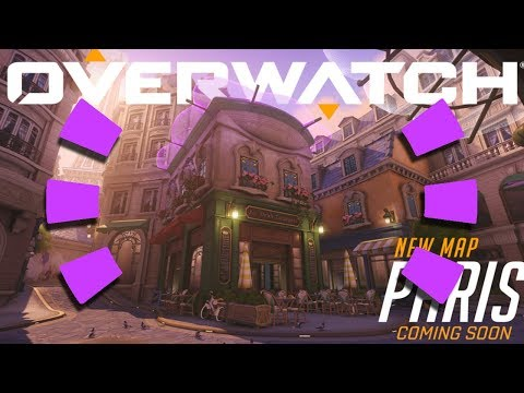 Overwatch - *NEW* MAP GAMEPLAY (Paris)