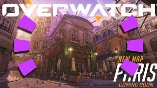 Overwatch - *NEW* MAP GAMEPLAY (Paris)