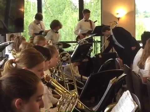 Langley middle school jazz band 2