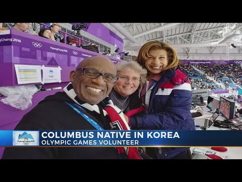 Central Ohio woman volunteers at Olympics