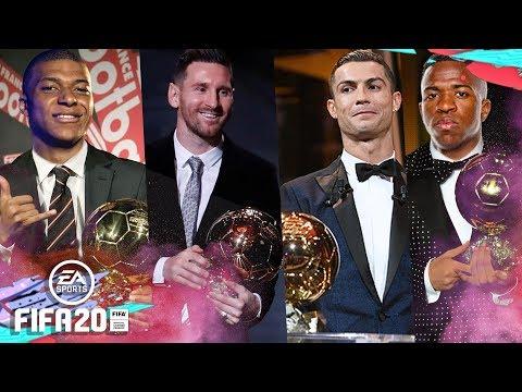 SIMULEI TODOS OS PRÊMIOS DE BOLA DE OURO NO FIFA E ME SURPREENDI!!!