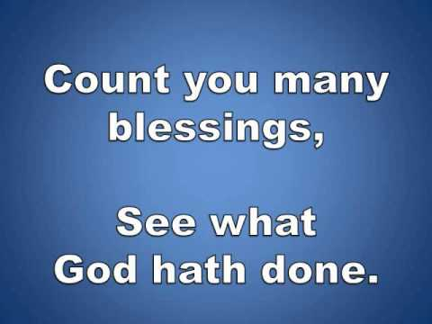 Count Your Blessings W/ Lyrics