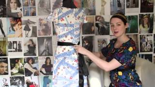 How to Tie a Dress Sash