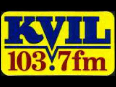 103.7 KVIL HOUSTON SID,BUMPERS,WEATHER,NEWS 1990-1999