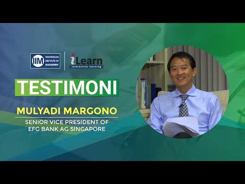 VIDEO TESTIMONI - Mulyadi Margono ( Senior Vice President of EFG Bank AG Singapore )