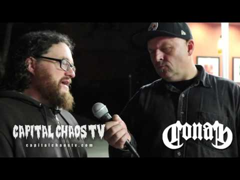 Jon Davis of Conan talks playing Oakland and being safe on the road in America
