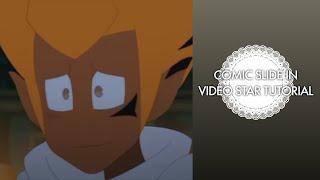 VIDEO-STERNE-TUTORIAL || Wie man eine AE Comic-Folie in Glatt auf Video Star (AE auf Video Star)