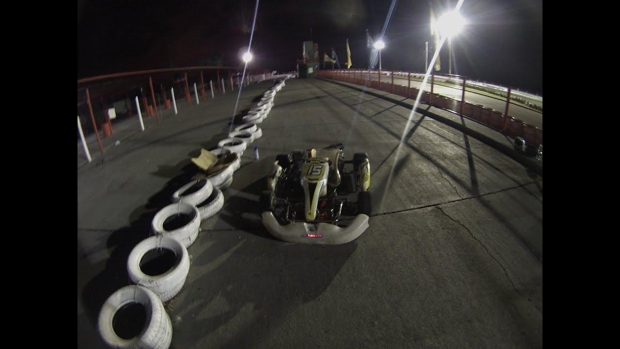 Circuito Zarate : Kart on board leo carreras zarate circuito nov youtube