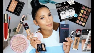 TRYING NEW DRUGSTORE MAKEUP | WORTH IT?