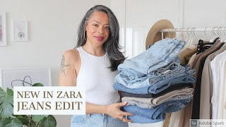 NEW IN ZARA | JEANS EDIT | ALL HIGH RISE | WIDE LEG, STRAIGHT, SKINNY, CROPPED