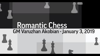 Morphy checkmates Rousseau in the Center! | Romantic Chess - GM Varuzhan Akobian